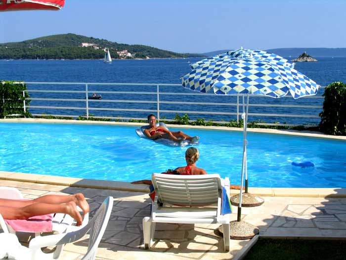 Private Villa Elite bei Trogir