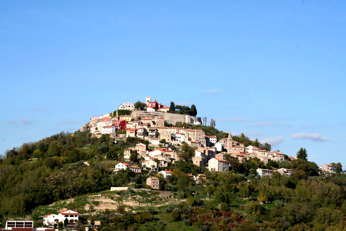 Motovun in Istrien