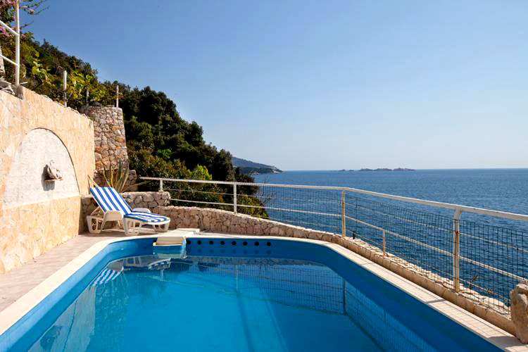 Ferienhaus in Dubrovnik direkt am Meer Villa the Rocks
