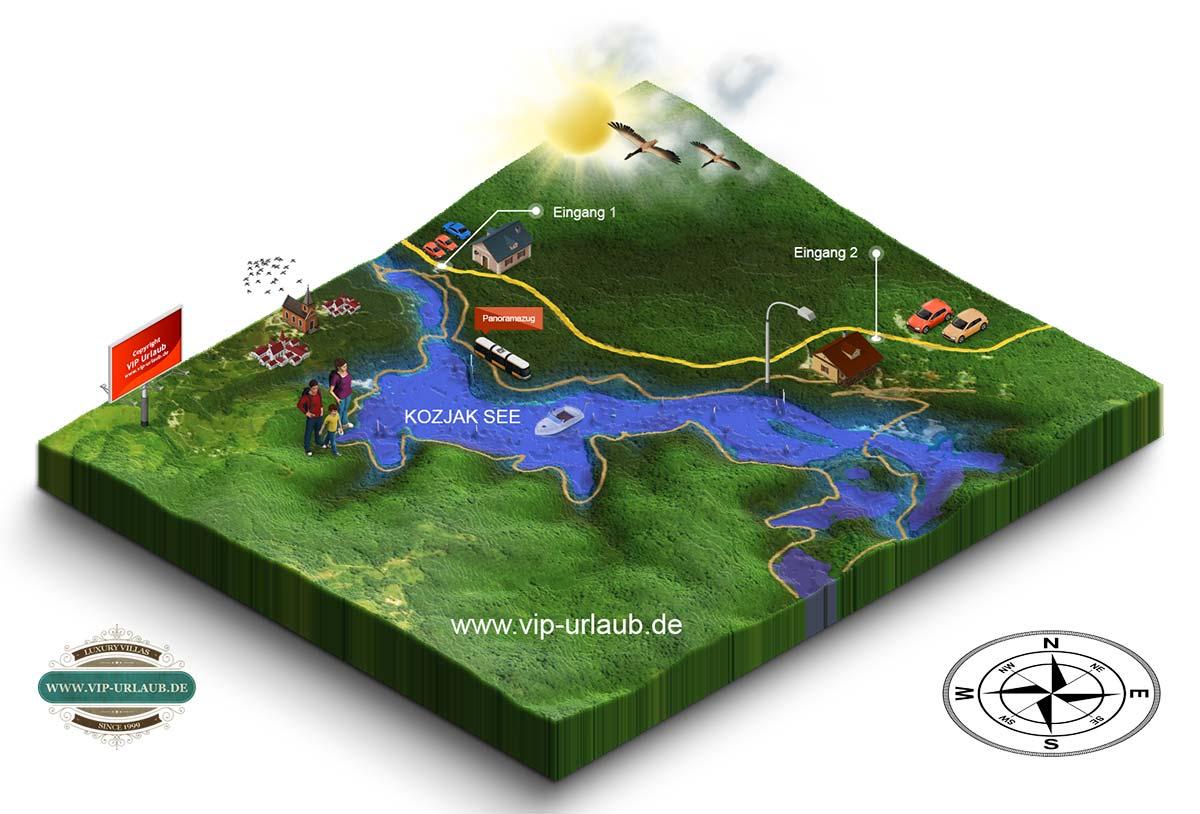 Nationalpark Plitvicer Seen Karte.Kroatien Reisefuhrer 2019 Plitvicer Seen Wasserfalle In